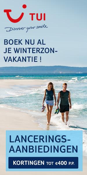 Geldig voor nieuwe boekingen vanaf 6/4/2017  Wil jij al je winterzonvakantie boeken? Dan hebben wij goed nieuws want de populairste bestemmingen voor het winterseizoen zijn nu al boekbaar. Bovendien profiteer je nu van uitzonderlijke lanceringsaanbiedin